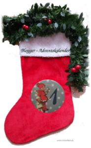 Adventskalender Socke Blogger-Adventskalender