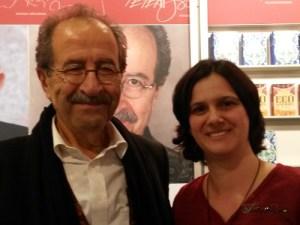 mit Rafik Schami auf der Frankfurter Buchmesse 2015