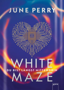 White Maze June Perry Cover