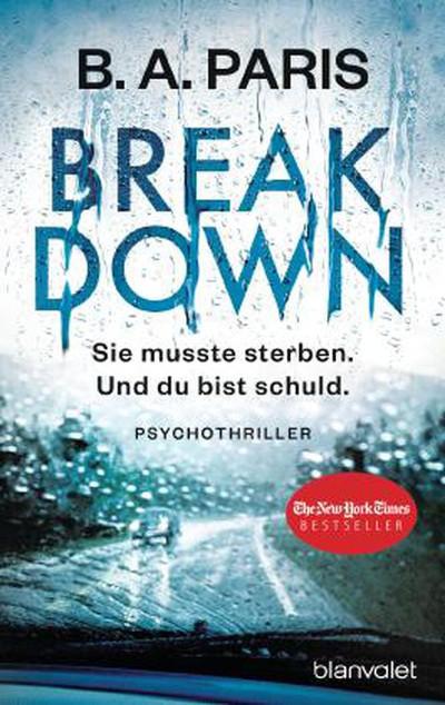 Breakdown b.a. paris