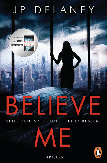 Cover jp Delaney Believe me