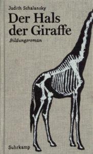 Schalansky Der Hals der Giraffe Cover