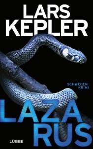 Cover Lars Keppler Lazarus
