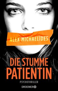 Cover Thriller Alex Michaelides Die stumme Patientin