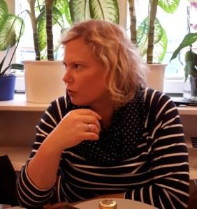Petra Hülsmann im Gespräch