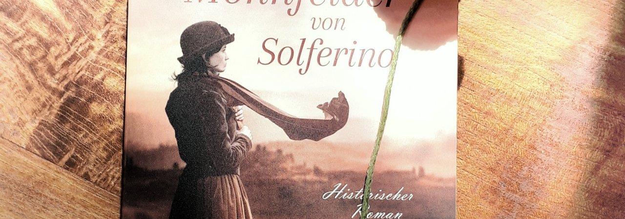 Cover mit Mohnblume Diana Menschig Die Mohnfelder von Solferino