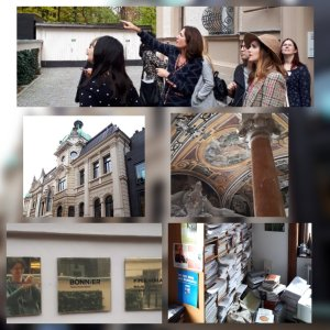 Collage Zu Besuch beim Piper Verlag