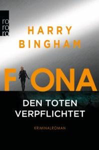 Cover Harry Bingham Fiona: Den Toten verpflichtet