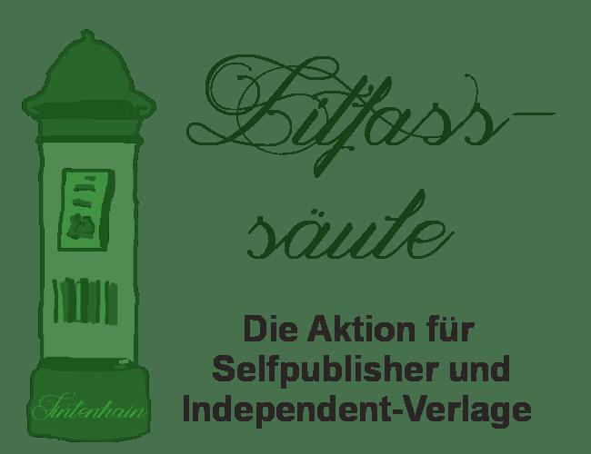 Logo Lifaßsäule - Aktion für Autoren, Selfpublisher und Verlage