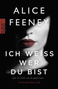 Cover Alice Feeney Ich weiß, wer du bist