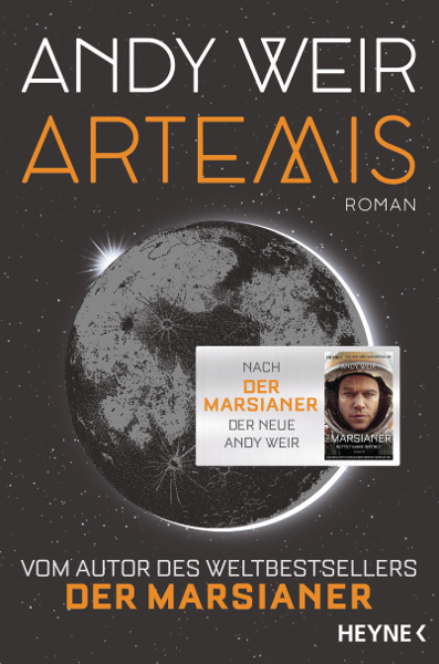 Cover Andy Weir Artemis