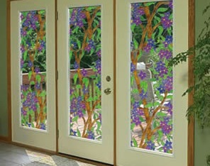 Sun Protection Forhealth And Home Static Cling Decorative Window Film