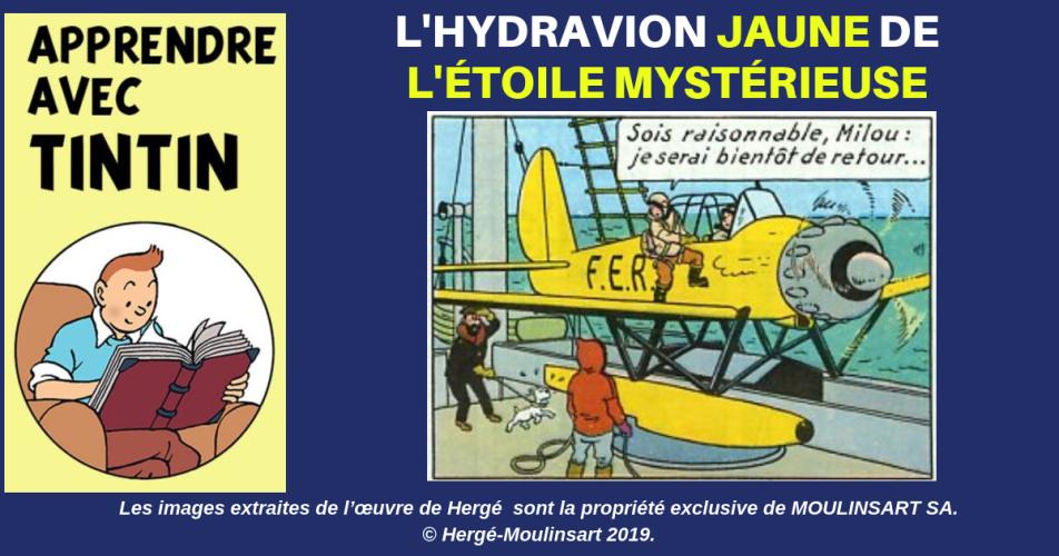 L'HYDRAVION ARADO DE L'ÉTOILE MYSTÉRIEUSE