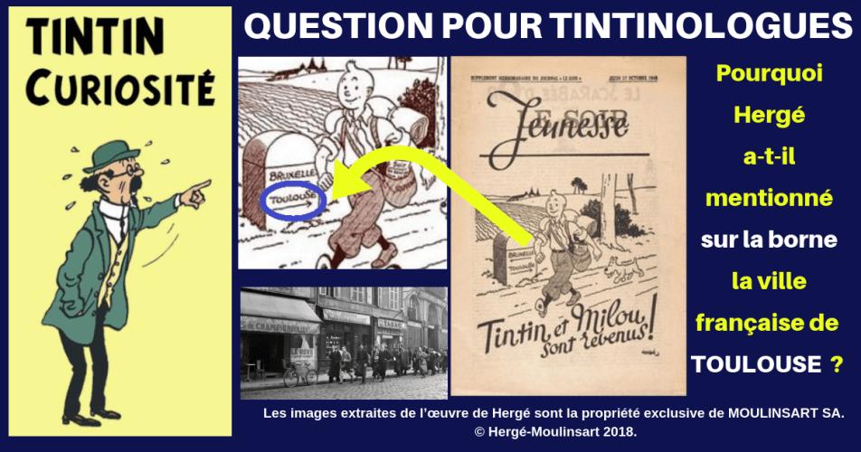 TINTIN SOIR JEUNESSE 1940 : POURQUOI TOULOUSE ?