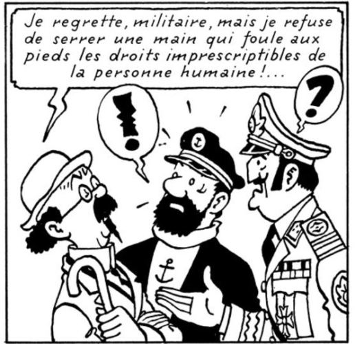 TINTIN ET LES DROITS DE L'HOMME