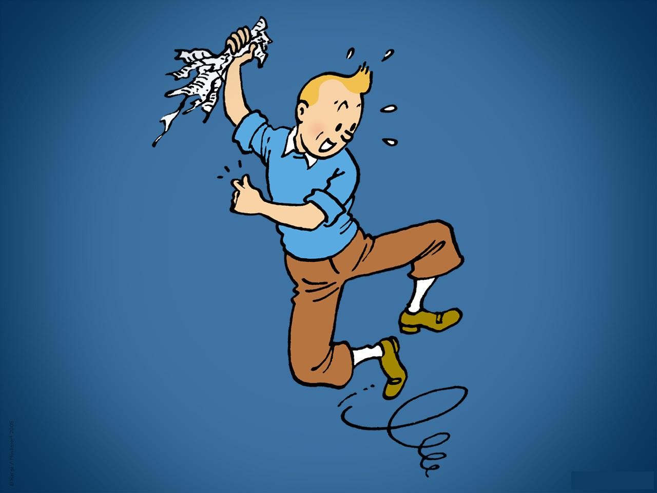 5 Fonds D Ecran Tintin Tintinomania