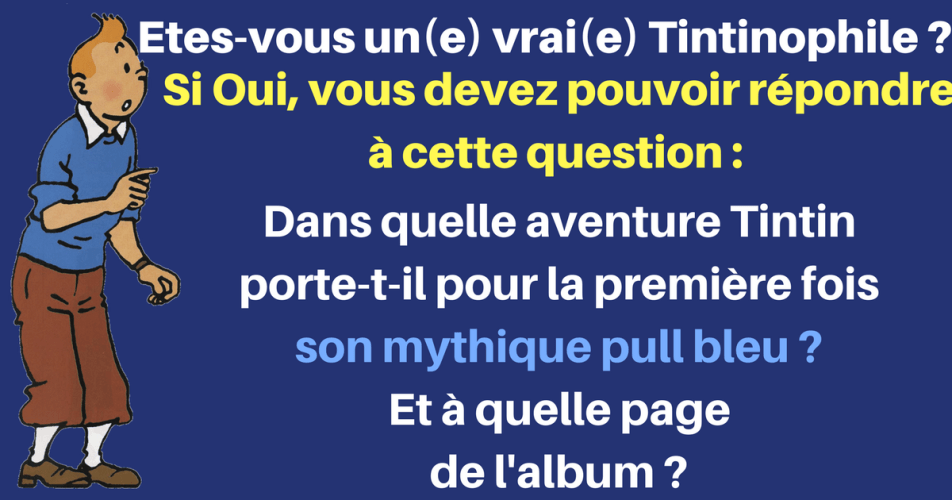 QUESTION ARDUE POUR TINTINOPHILES