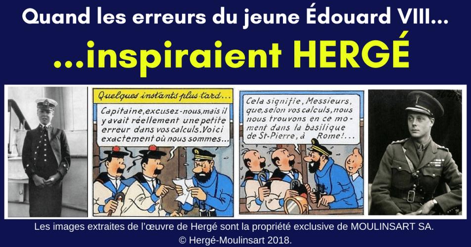 ÉDOUARD VIII : L'ÉTONNANTE SOURCE DOCUMENTAIRE DE HERGÉ