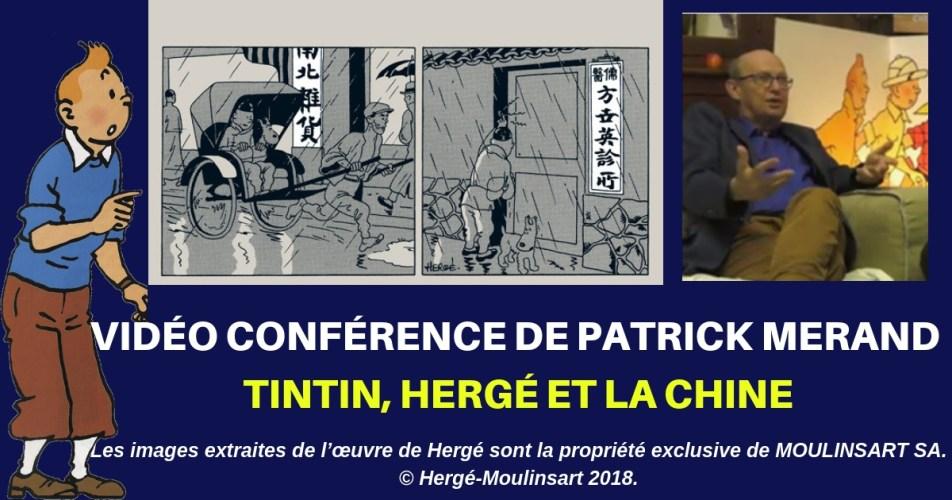 LE LOTUS BLEU : LA VIDÉO DE LA CONFÉRENCE DE PATRICK MERAND