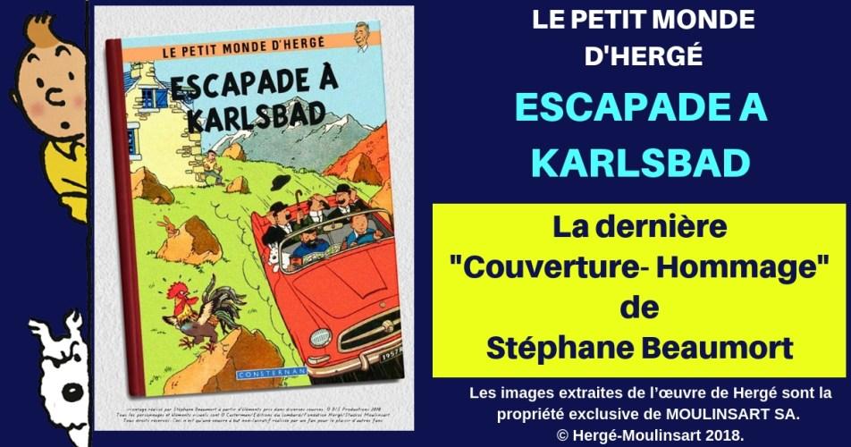 COUVERTURE HOMMAGE : L'ESCAPADE DE NOS AMIS