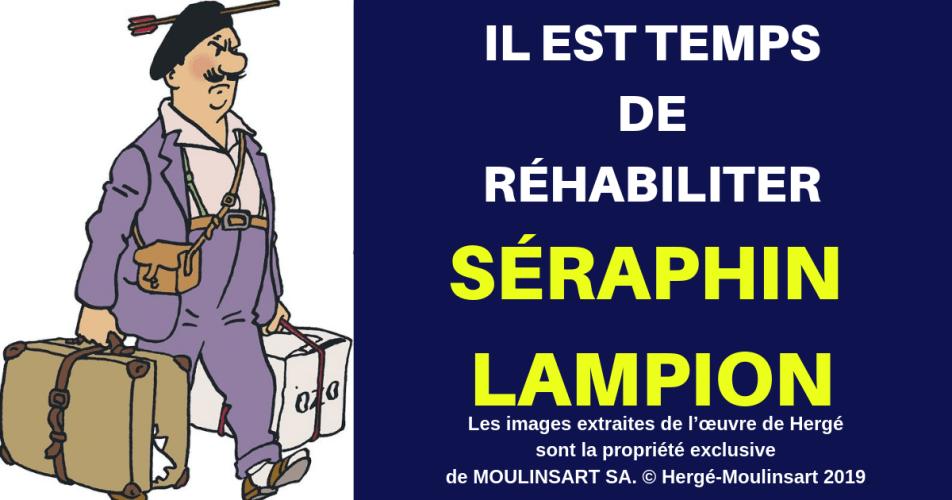 TINTIN - SÉRAPHIN LAMPION : UN PERTURBATEUR MAL AIMÉ