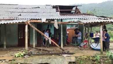 Bão số 4 gây thiệt hại về người và tài sảntrên địa bàn 6 huyện