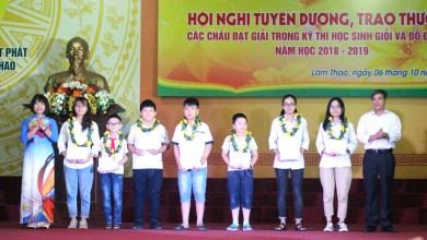 Công ty CP Supe Phốt phát và Hóa chất Lâm Thao trao thưởng học sinh giỏi và đỗ đại học