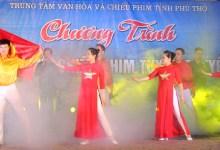 Chiếu phim và giao lưu văn nghệ tại huyện Cẩm Khê