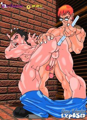 Sugary-sweet youthful manga porno gay getting rectally pummeled rear end fashion at the window