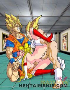 Delightful manga pornography vixen railing a phat man rod like kinky