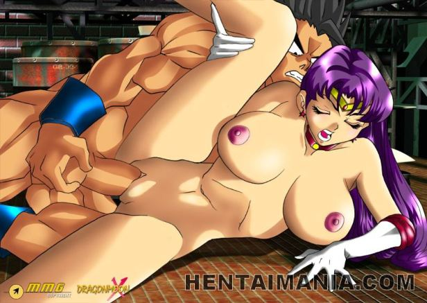 Inviting manga pornography whores with ample bosoms getting banged by humungous cocks