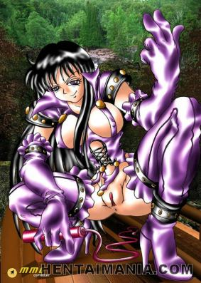 Jiggish anime porn babe getting tight cunny ravaged by a giant stiffy