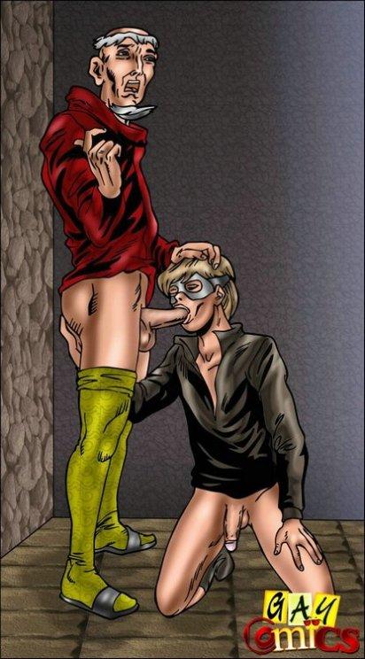 Wild 3some homosexual costume have fun romp