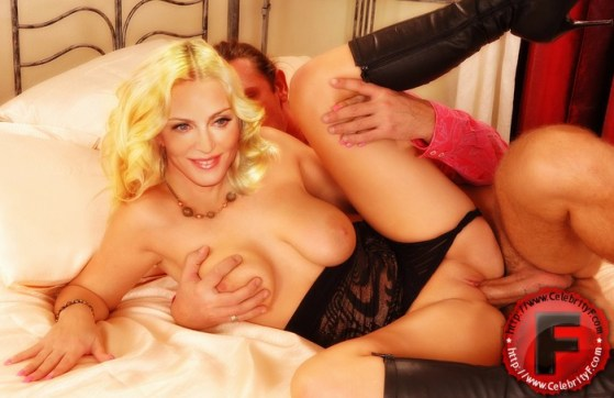 Cock-hungry cougar Madonna