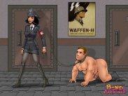 German dominatrix abases her slave