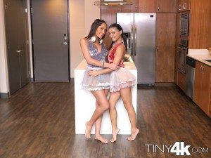 Tiny4k Pocket & Chloe Amour in Birthday Threesome 1