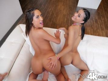 Tiny4k Pocket & Chloe Amour in Birthday Threesome 15
