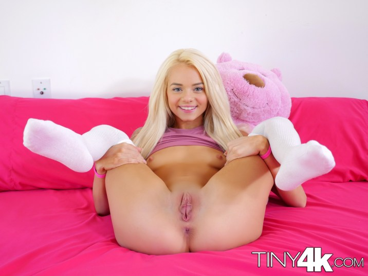 Elsa Jean in Tiny Teen Sneaks In Boyfriend 8