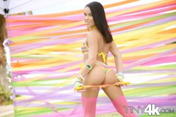 Megan Rain in Sexy Festival Fling 4