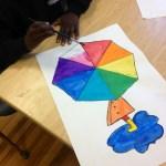 Rainbow Umbrellas Tinyartroom