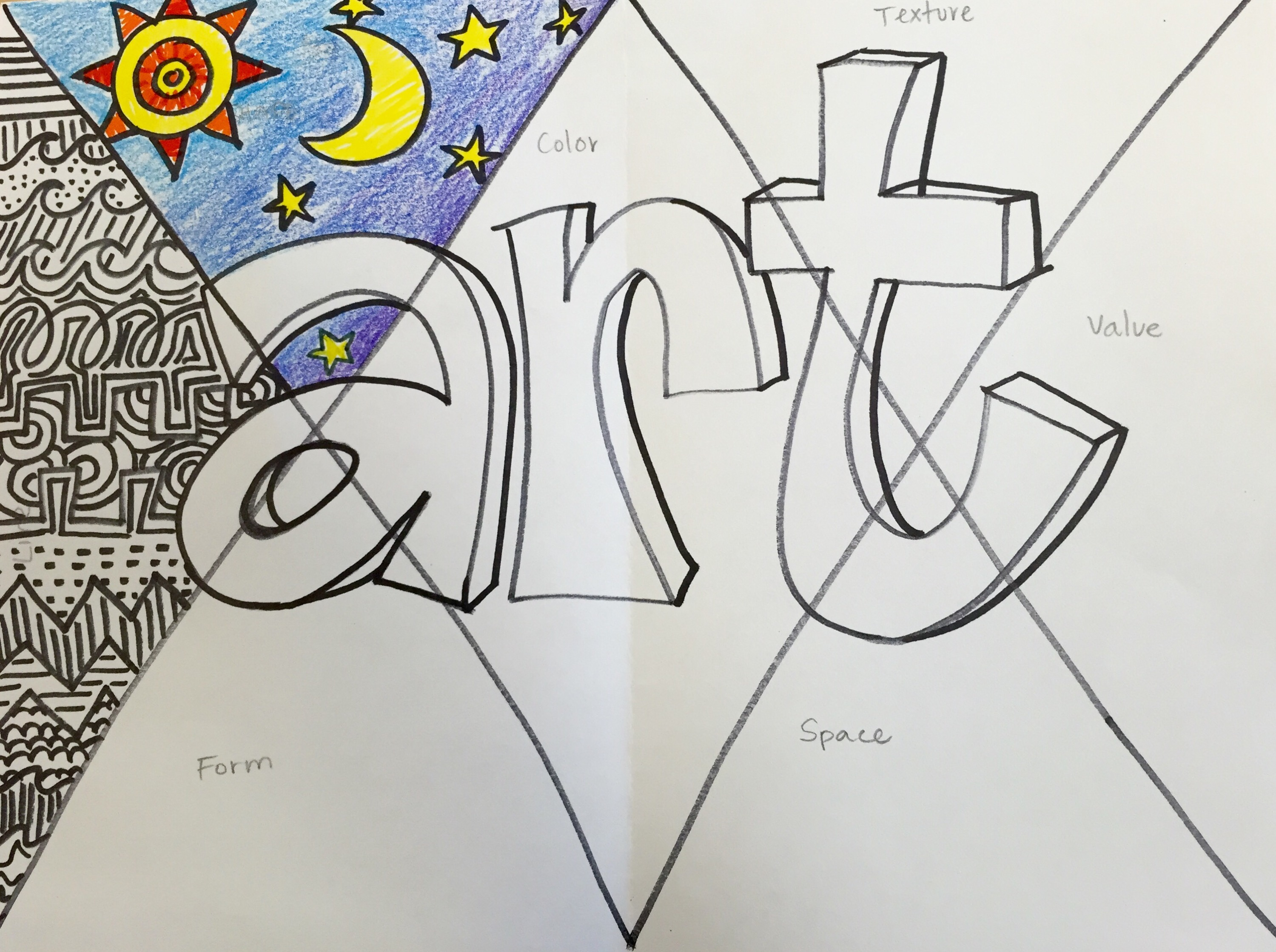 Elements Of Art Form Drawing