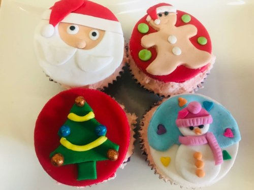 Christmas Cupcake Class