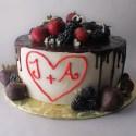 Chocolate Engagement Cake (GF)
