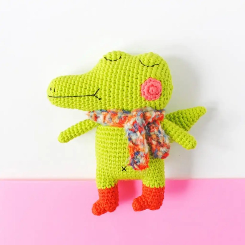 Hisashi the Honest Crocodile pattern by Amigurumei