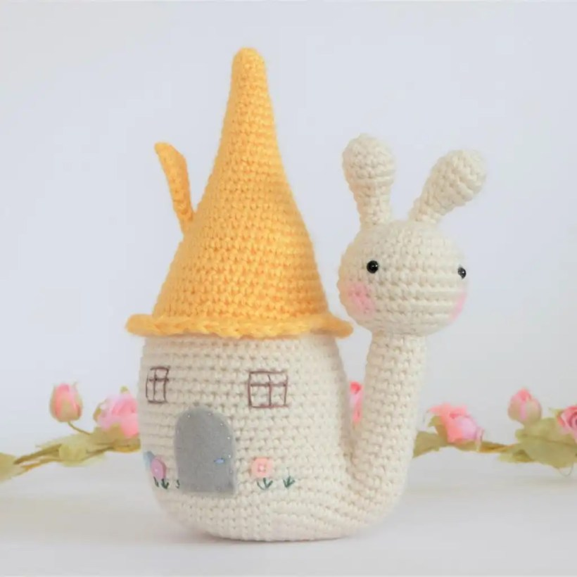 Saffy the Snail Pattern by Kornflake Stew