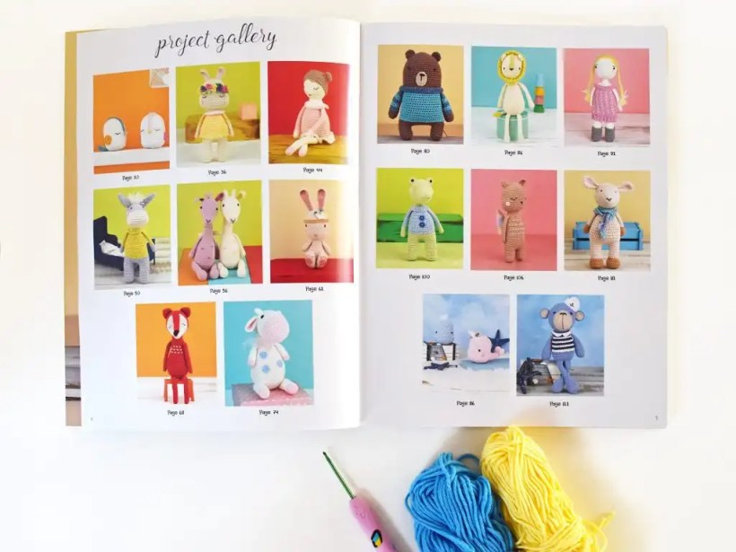 Cutest Crochet Creations Book Review | Tiny Curl