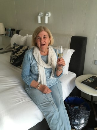 Mum and her bubbles