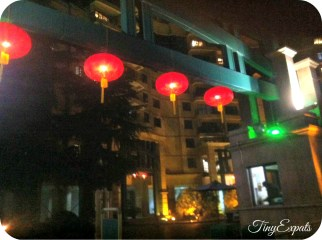 Red lanterns everywhere