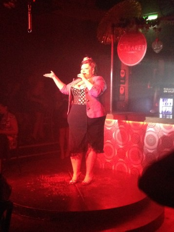 A cabaret in Camden Town - a perfect night out in London. Check out what we did on Saturday night in London!