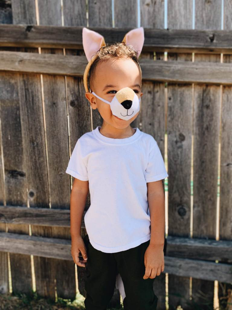 affordable Halloween costumes - fox costume for kids